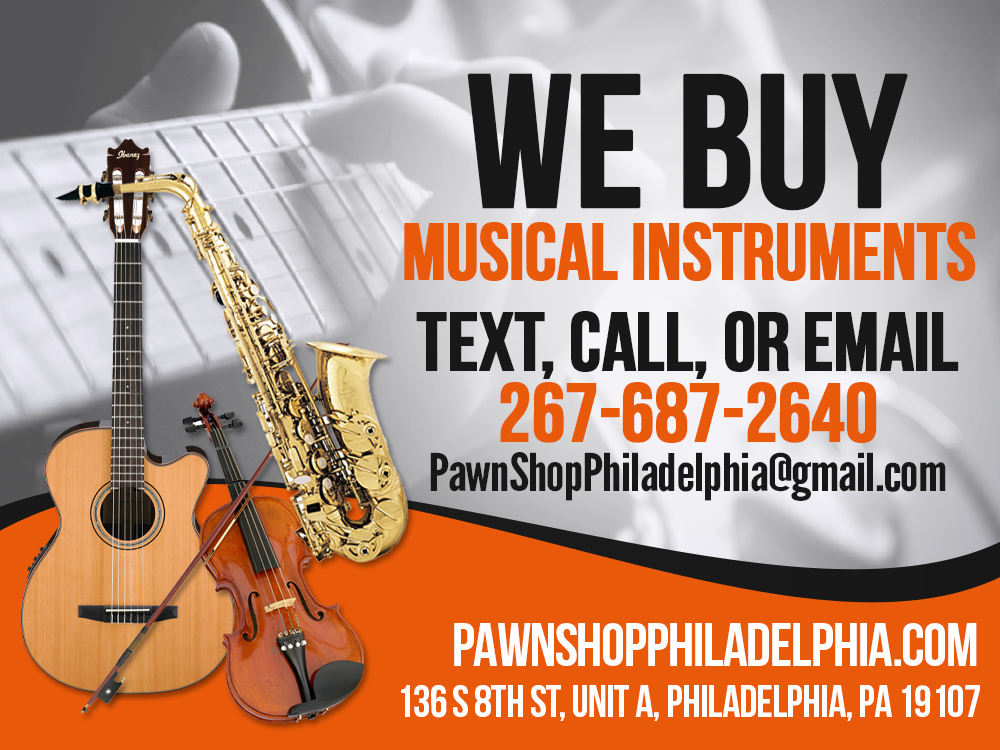 sell musical instruments philadelphia pawn shop philadelphia. Black Bedroom Furniture Sets. Home Design Ideas