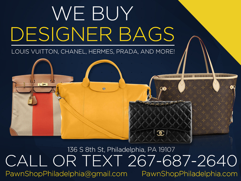 702c48ae3b94 Designer Bags, Purses & Pocketbooks - Pawn Shop Philadelphia